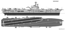 hmas melbourne r21 profile and plan
