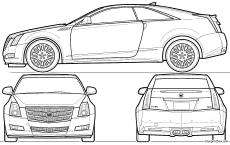 cadillac cts coupe 2010