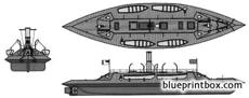 css palmetto state 1862 ironclad