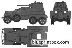 ba 10 russian armoured car
