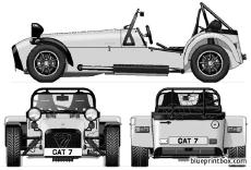 caterham seven superlite 16 2001
