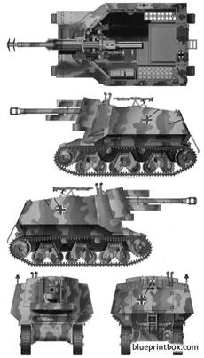 105cm lefh18sf self propelled gun h36f