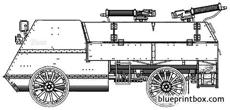 autocar armoured car wwi
