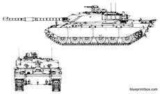 challenger 1 main battle tank 2