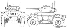 daimler armored car mki
