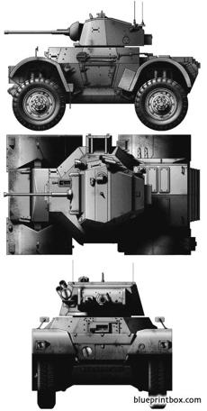 daimler armoured car mki