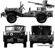 dodge m6 with 37cm gun 2