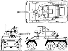 engesa ee 9 cascavel armoured car
