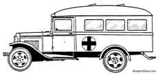 gaz mm ambulance