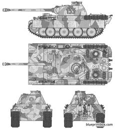 german panther type g early version 2