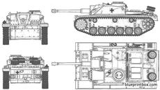 german sturmgeschutz iii ausf g early version 2