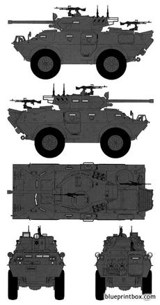 lav 150 commando 90mm apc