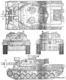 Leopard 2a6 blueprintbox free plans and blueprints of cars leopard 1 a2 malvernweather Choice Image
