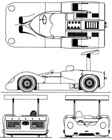 chaparral 2e can am 1967