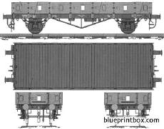 low freight wagon biaxial type 2