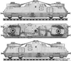 nr51 german heavy armored train