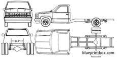 chevrolet c k pick up chassis cab 1990