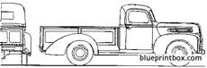 ford 1 ton pick up 1946