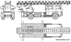 magirus deutz dl30 fire truck 1976