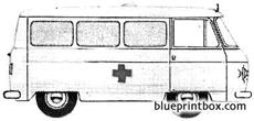 commer fc 75 ton anbulance