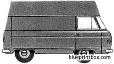 commer fc 75 ton van high roof