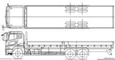 mitsubishi fuso fg140 - BlueprintBox com - Free Plans and