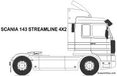 scania 143 streamline 4x2 tractor unit
