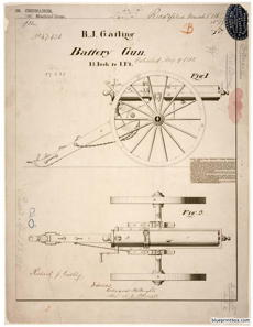 gatling battery gun