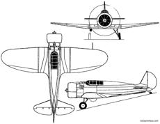 boeing xf7b 1  model 273 1933 usa