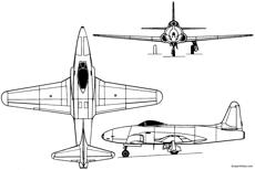 lockheed f 80 shooting star 1944 usa
