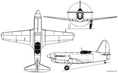 mikoyan gurevich mig 13 i 250 1945 russia
