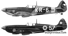 supermarin spitfire lf mkixe