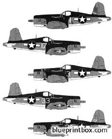 vought f 4u 1a corsair