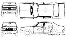datsun bluebird 610 180b 4 door 1977