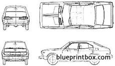 datsun bluebird 610 4 door 1975