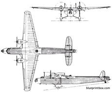 handley page hp54 harrow 1936 england