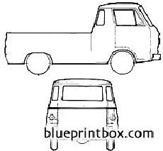 dodge a100 compact pick up 1965