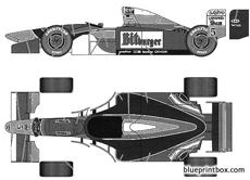 benetton b194 1994 late version