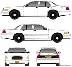 ford crown victoria 2004 police interceptor