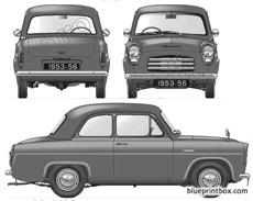 ford e anglia 100e 2 door 1953