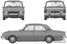 ford e corsair gt v4 2000 4 door 1963 70