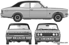 ford e cortina mkiii glx 2000 2 door 1976