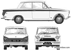 ford e lotus cortina 1962