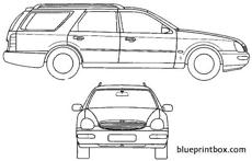 ford e scorpio estate 1994
