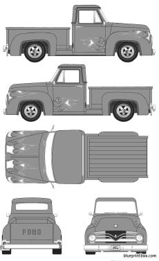 ford f 100 pick up 1955