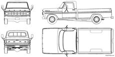 ford f 150 pick up 1978
