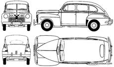ford fordor super deluxe 1942