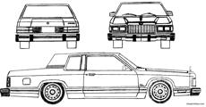 ford granada coupe 1981
