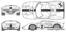 ford gt 40 mark ii daytona