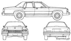 ford ltd crown victoria 1985